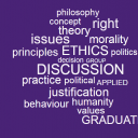 applied ethics wordcloud2