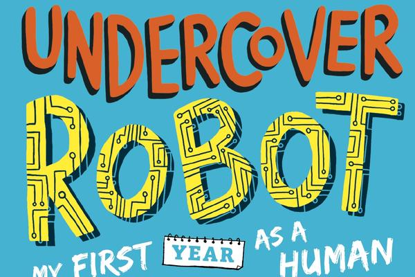 book cover undercover robot