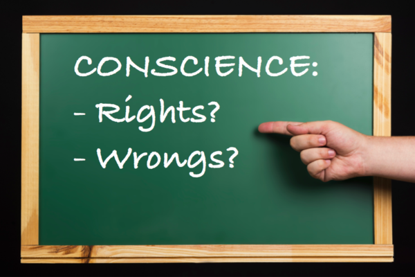 conscience rights wrongs