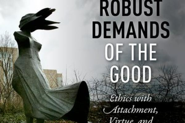 Book cover: The Robust Demands of the Good