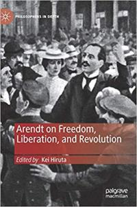 book cover Arendt on freedom, liberation and revolution