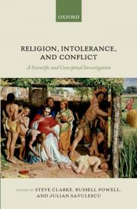 Religion, intolerance, conflict book cover