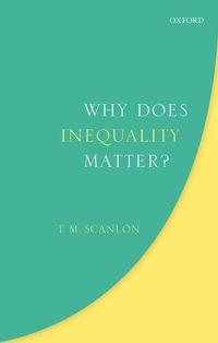book cover why does inequality matter