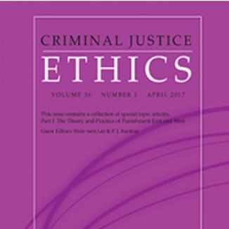 Journal of Criminal Justice Ethics